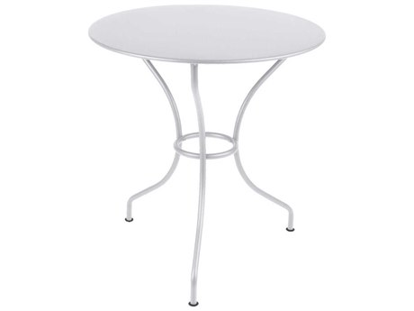 Fermob Opera 26'' Wide Steel Round Bistro Table