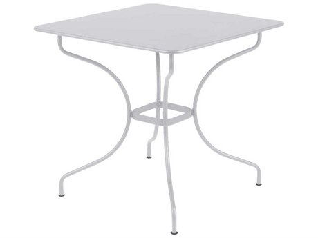 Fermob Opera 30'' Wide Steel Square Bistro Table