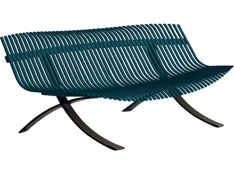 Fermob Charivari Aluminum Steel Metal Bench