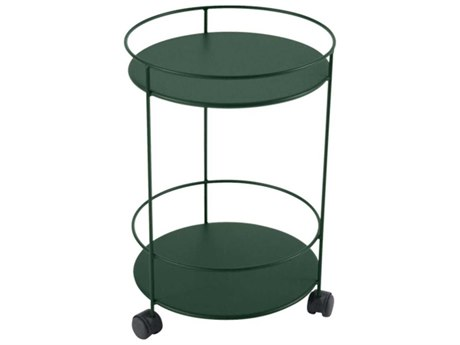 Fermob Guinguette 16'' Wide Steel Round End Table