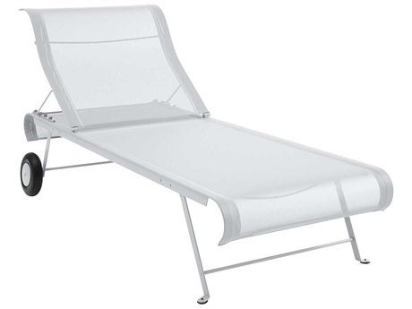 Fermob Dune Steel Sling Chaise Lounge PatioLiving