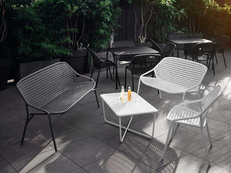 Fermob Croisette Aluminum Resin Lounge Set