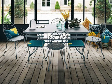 Fermob Romane Steel Dining Set
