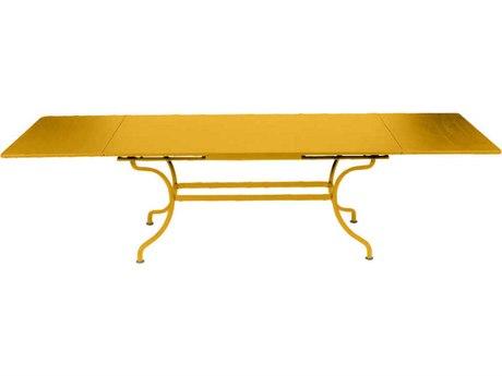 Fermob Romane 79 - 118'' Wide Steel Rectangular Dining Table