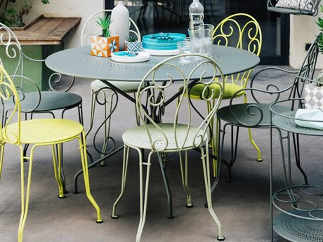 Fermob 1900 Steel Dining Set