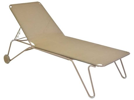 Fermob Harry Steel Sling Chaise Lounge