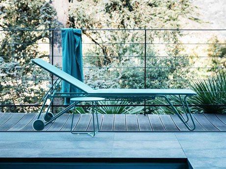 Fermob Harry Steel Pool Patio Lounge Set