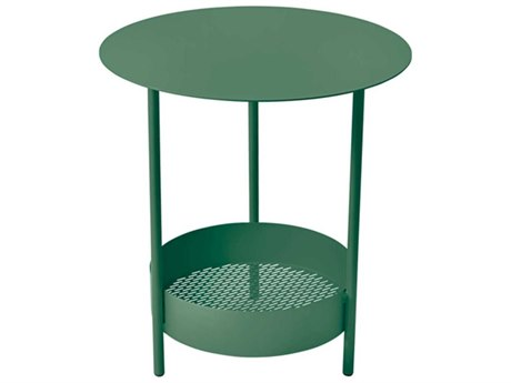 Fermob 20'' Wide Steel Round End Table