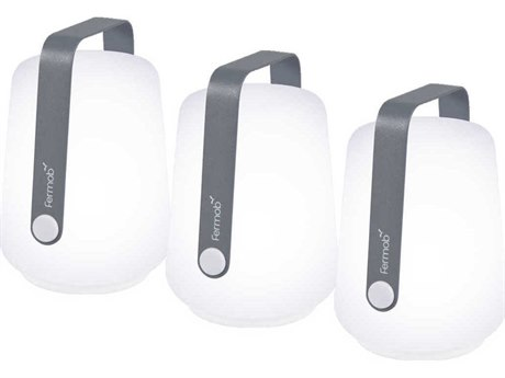 Fermob Balad Storm Grey Outdoor Light (Set of 3) PatioLiving