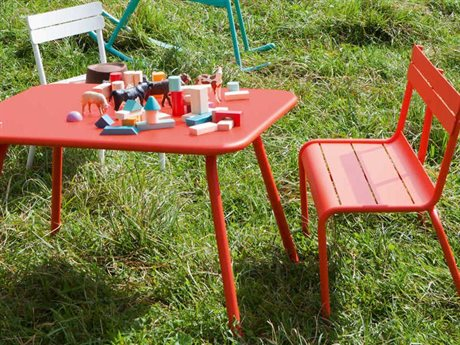 Fermob Luxembourg Aluminum Dining Set - Kid Sized