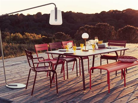 Fermob Luxembourg Aluminum Dining Set
