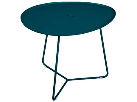 Fermob Cocotte 18'' Wide Aluminum Round End Table