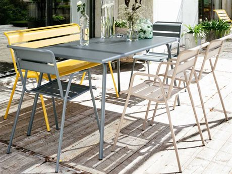 Fermob Monceau Steel Dining Set