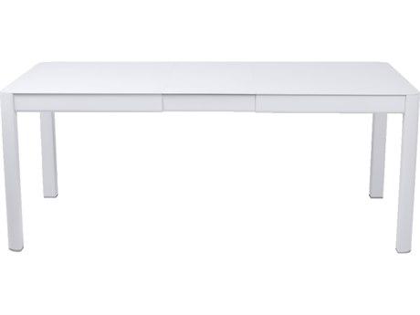 Fermob Ribambelle 59-75'' Wide Aluminum Rectangular Dining Table