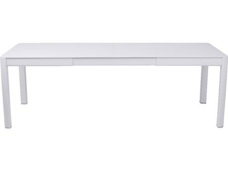 Fermob Ribambelle 59-92'' Wide Aluminum Rectangular Dining Table