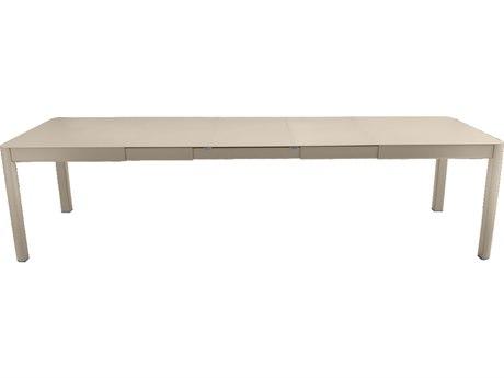Fermob Ribambelle 59-118'' Wide Aluminum Rectangular Dining Table