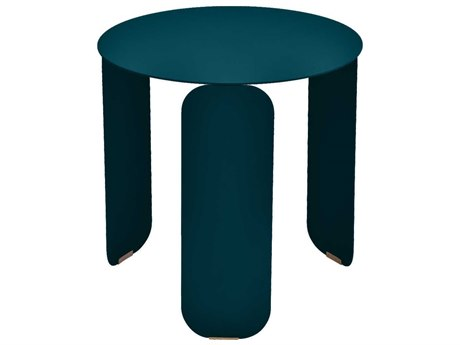 Fermob Bebop 18'' Wide Aluminum Round End Table