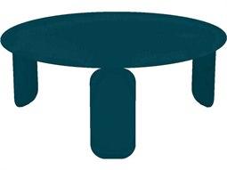 Bebop 31'' Wide Aluminum Round Coffee Table
