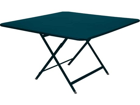 Fermob Caractere 51'' Wide Steel Square Dining Table