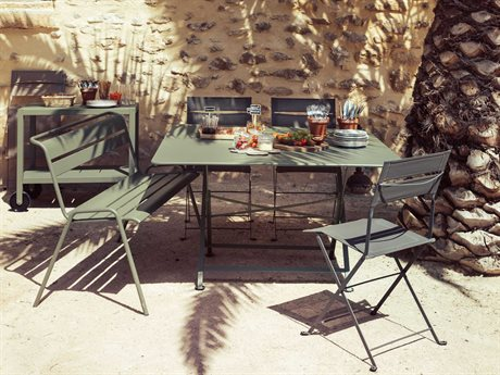 Fermob Caractere Steel Dining Set