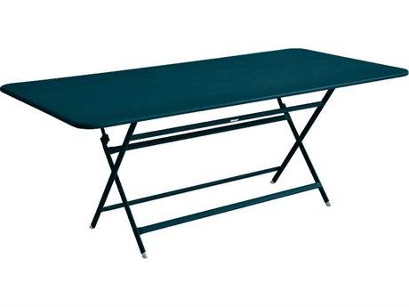 Fermob Caractere 75'' Wide Aluminum Rectangular Dining Table