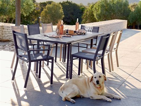 Fermob Costa Aluminum Dining Set