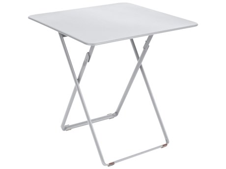 Fermob Plein Air 28'' Wide Steel Square Bistro Table