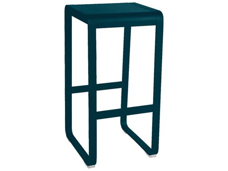 Fermob Bellevie Aluminum Metal Bar Stool (Set of 2)