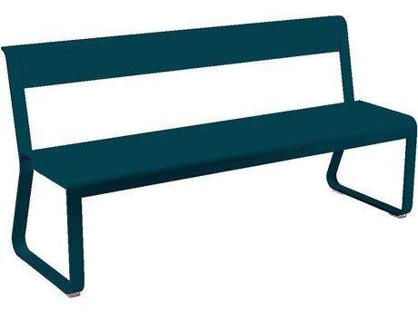 Fermob Bellevie Aluminum Steel Metal Bench