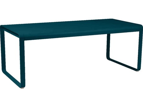 Fermob Bellevie 77'' Wide Aluminum Rectangular Dining Table