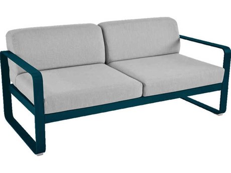 Fermob Bellevie Aluminum Cushion Loveseat