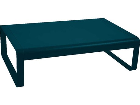 Fermob Bellevie 41'' Wide Aluminum Rectangular Coffee Table