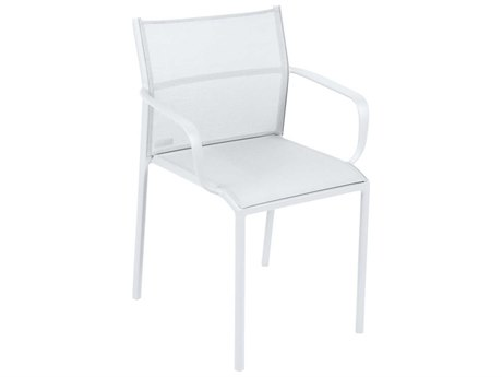 Fermob Cadiz Aluminum Sling Dining Chair (Set of 2)