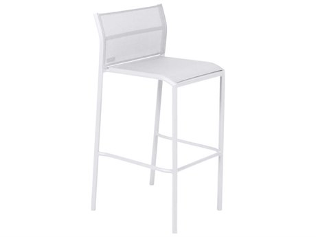 Fermob Cadiz Aluminum Sling Bar Stool (Set of 2) PatioLiving