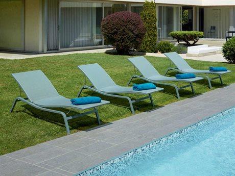 Fermob Alize Aluminum Sling Lounge Set FER8906SET2