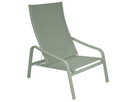 Fermob Alize Cactus Aluminum Sling Lounge Chair