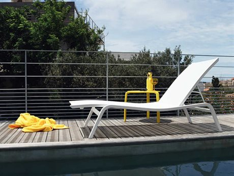 Fermob Alize Aluminum Pool Patio Lounge Set PatioLiving