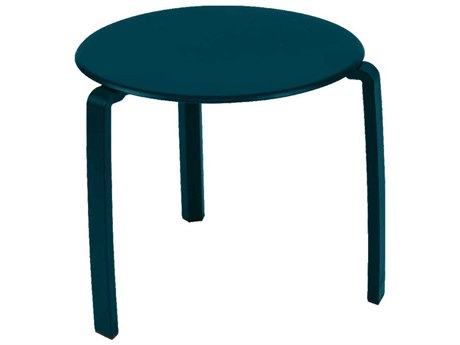 Fermob Alize 19'' Wide Aluminum Round End Table