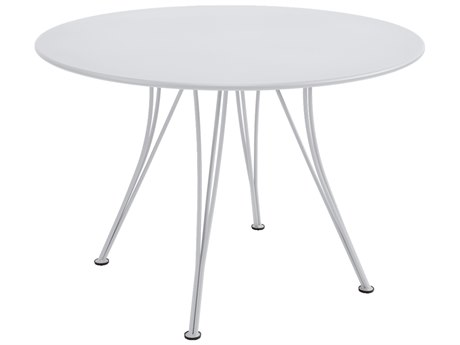 Fermob Rendez-vouz 43'' Wide Steel Round Bistro Table