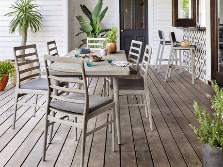 Four Hands Outdoor Solano Teak Dining Set