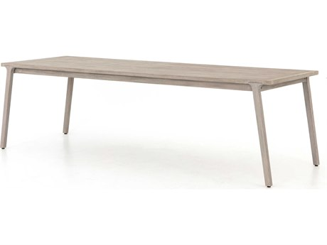 Four Hands Outdoor Solano 94'' Wide Teak Rectangular Dining Table