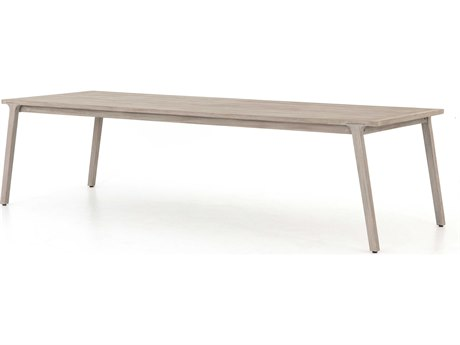 Four Hands Outdoor Solano 118'' Wide Teak Rectangular Dining Table