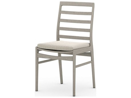 Four Hands Outdoor Solano Teak Cushion Dining Chair PatioLiving