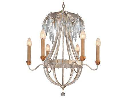 Flambeau Louis Six-Light 26 Wide Chandelier