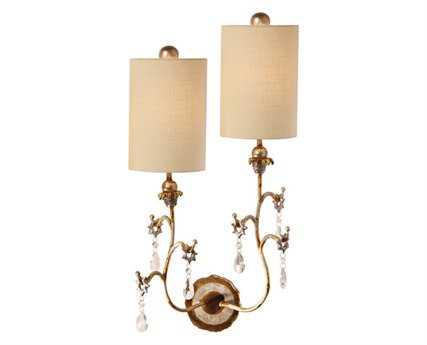 Flambeau Tivoli Gold Two-Light Right Wall Sconce