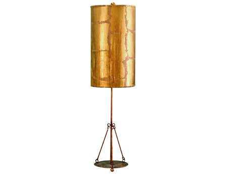 Flambeau Flagstone Gold Table Lamp
