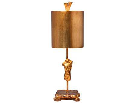 Flambeau Torso Fragment Gold Table Lamp