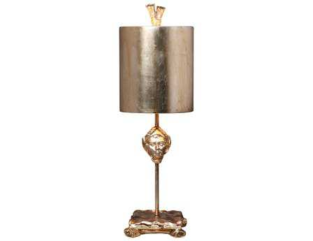 Flambeau Armory Fragment Silver Table Lamp