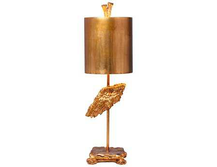 Flambeau Victory Fragment Gold Table Lamp
