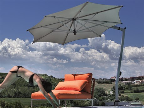 FIM C-Series Aluminum 11.5 Offset Umbrella PatioLiving